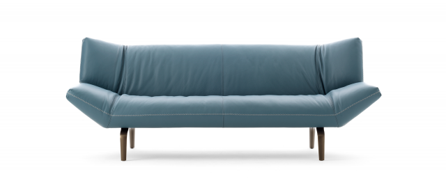 Design Bank Met Chaise Longue.Design Bank Devon Van Leolux